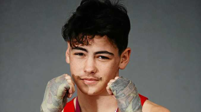 Boxing: Golden Gloves win has inspired teen to aim high