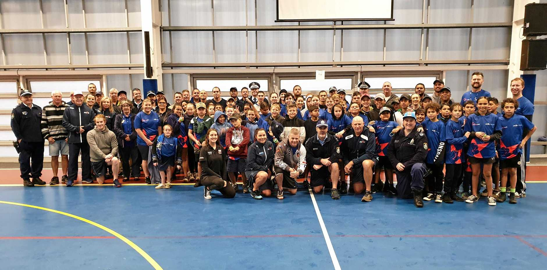 Police from Richmond and Tweed Byron Police Districts held a 'Fit 4 Life' in Lennox Head.