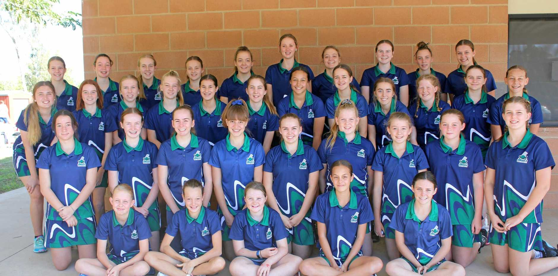 READY TO GO: Emerald Netball Association junior players are competing at the 2019 Nissan State Age Championships in Brisbane next week.