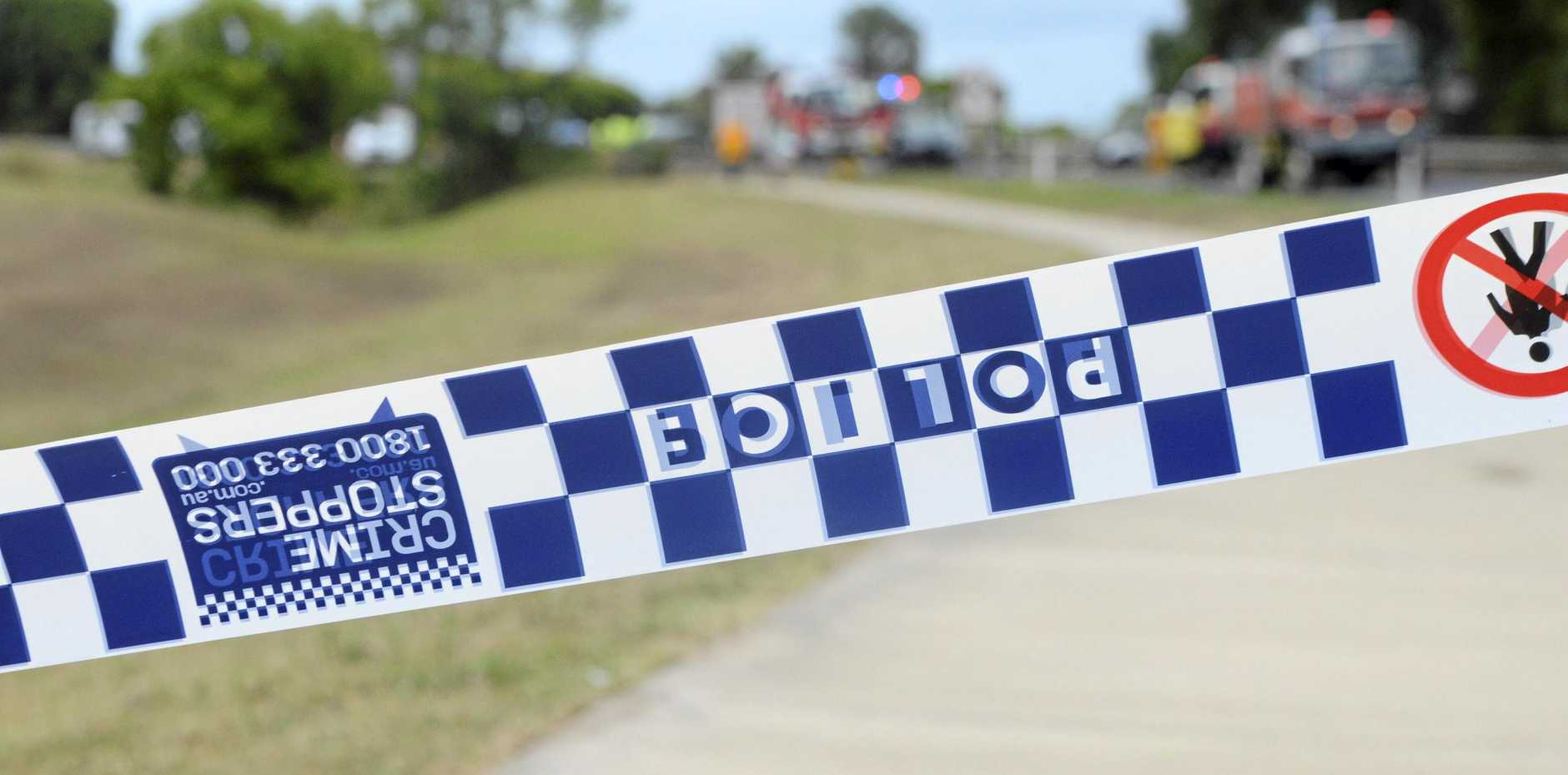 A man has been crushed by a hay bale at a rural work site.