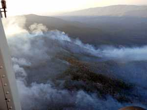 Government assistance for bushfire ravaged town