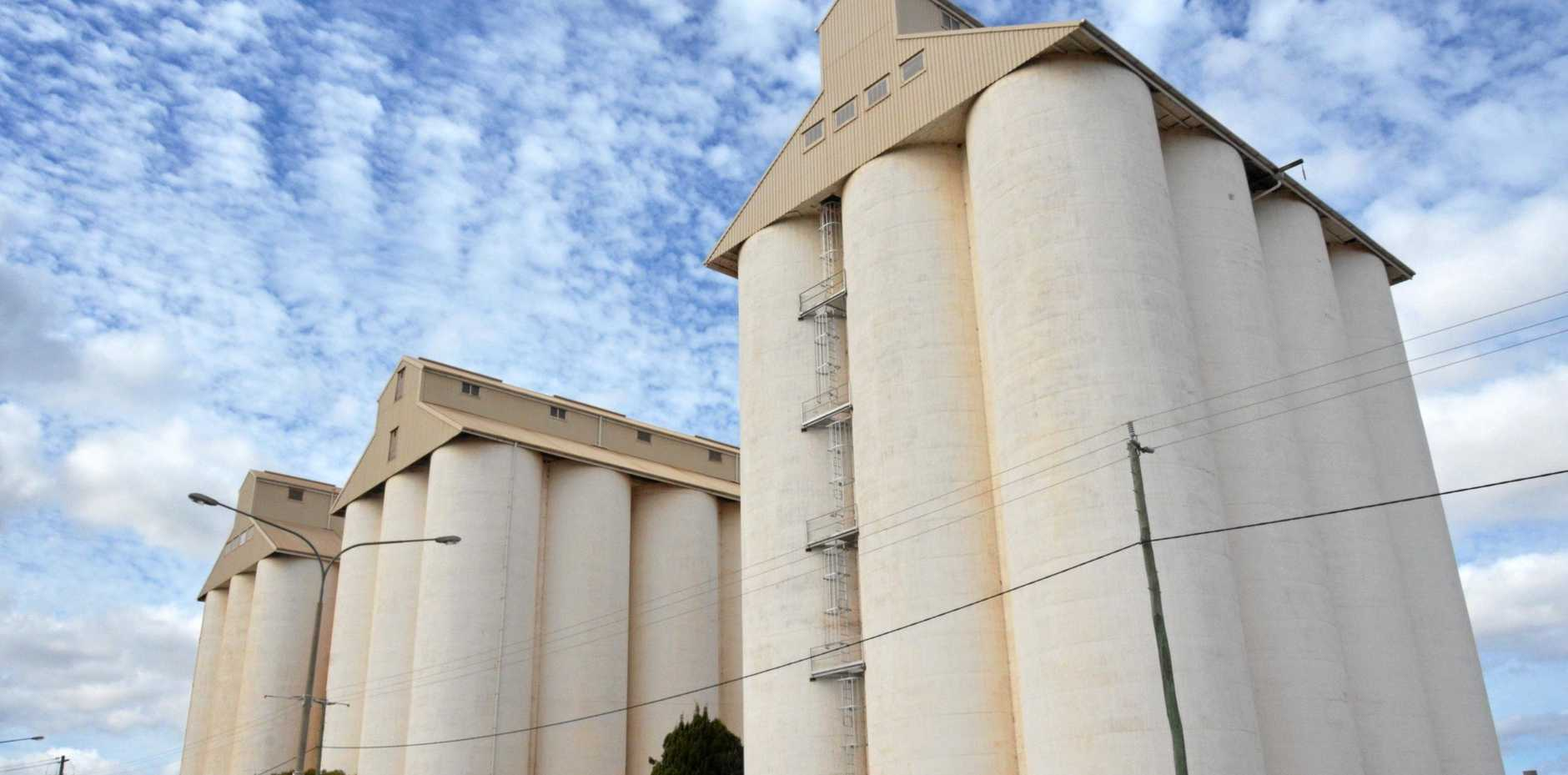 CHANCE FOR ARTISTS: South Burnett artists have the opportunity have their artwork projected on the peanut silos.