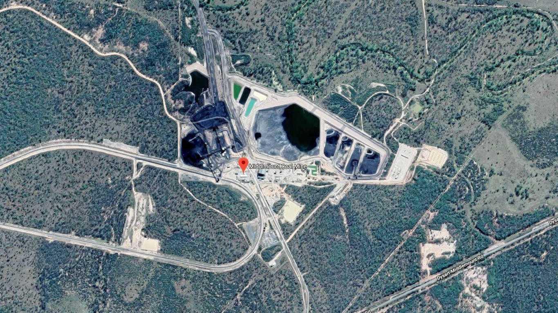Middlemount Coal mine in Central Queensland.