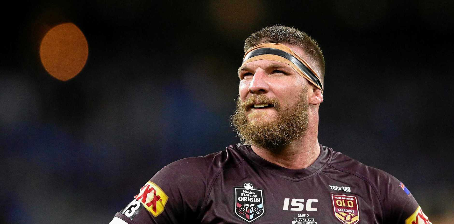 Tony Durkin believes Josh McGuire should speak to former Maroons star Shane Webcke.