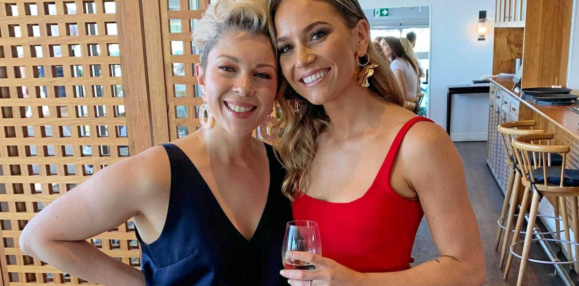 WALKING FOR A CAUSE: Rachel Lucchini and Chelsea Phillips will soon be walking 200km from Yarraman to Brisbane to raise money for cancer research.