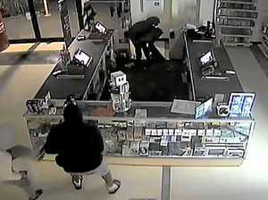 Four teens charged over brazen store ransacking