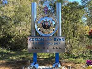Truck driver's roadside memorial to be moved by RMS