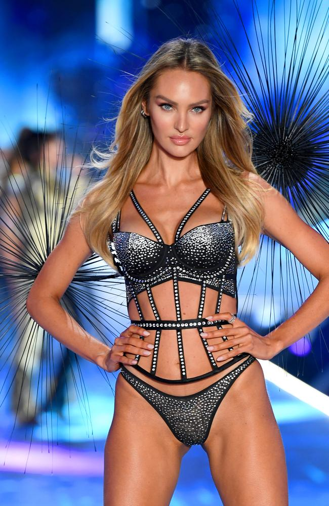 Victoria's Secret model Candice Swanepoel was fourth on the list. Picture: Dimitrios Kambouris/Getty Images