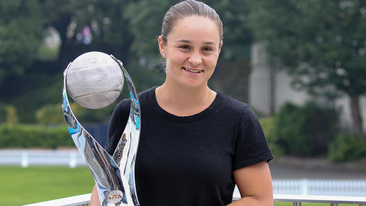 Ash Barty has her eyes on a big Olympic prize.