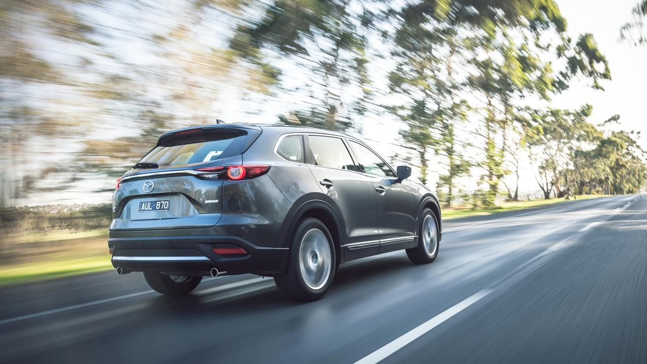 The CX-9 Azami LE is also packed with active safety tech.