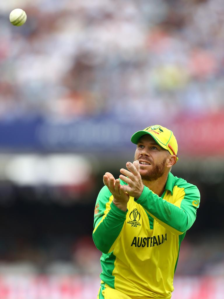 Warner helped Australia qualify for the semi-finals.