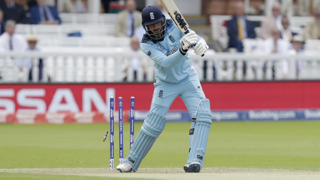 England's James Vince has scored 40 runs in three innings in this World Cup.