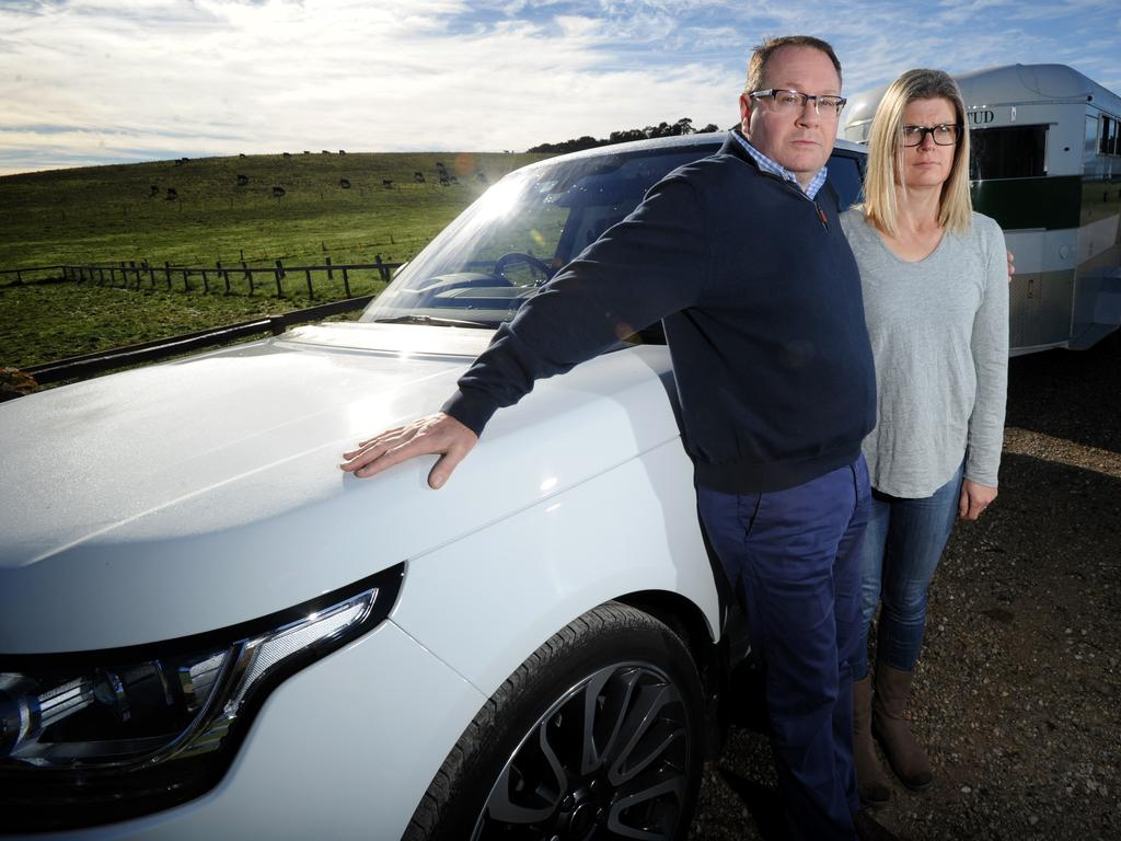 James and Sally Morphy are calling for a strengthening of the consumer protection law. Picture: Andrew Henshaw