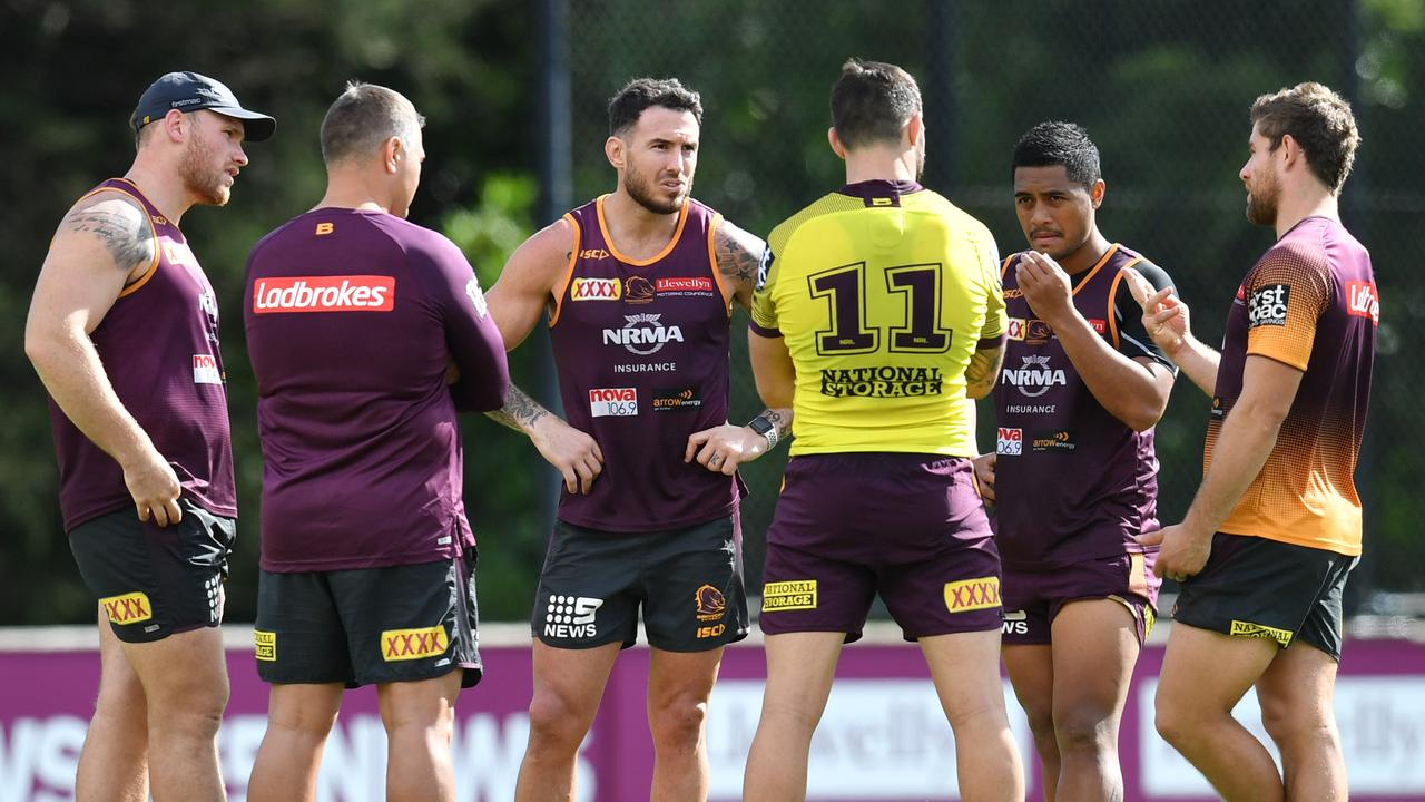 Given current form, the Broncos need all the experience they can get. Image: AAP Image/Darren England