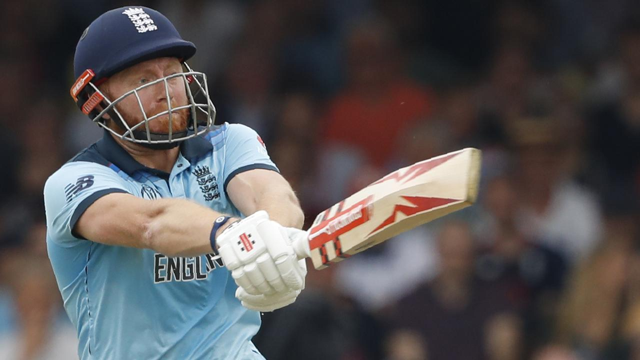 Jonny Bairstow in action for England.