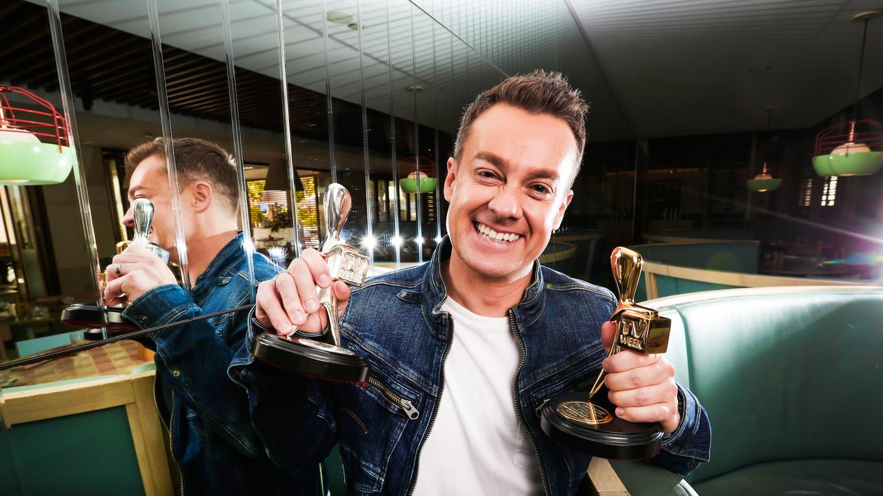 2018 TV Week Gold Logie winner Grant Denyer. Picture: Nigel Hallett