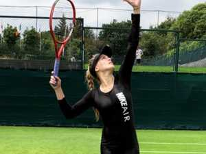'Catwoman' Bouchard stuns in new Wimbledon attire