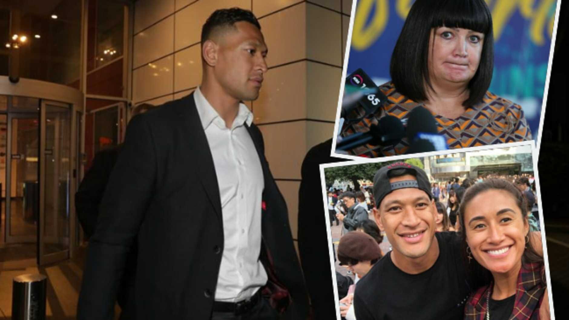 'Looking for an apology': Israel Folau set for fresh showdown with Rugby Australia