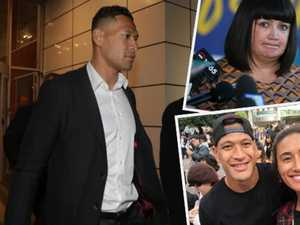 'Completely untrue': RA slams Folau accusation