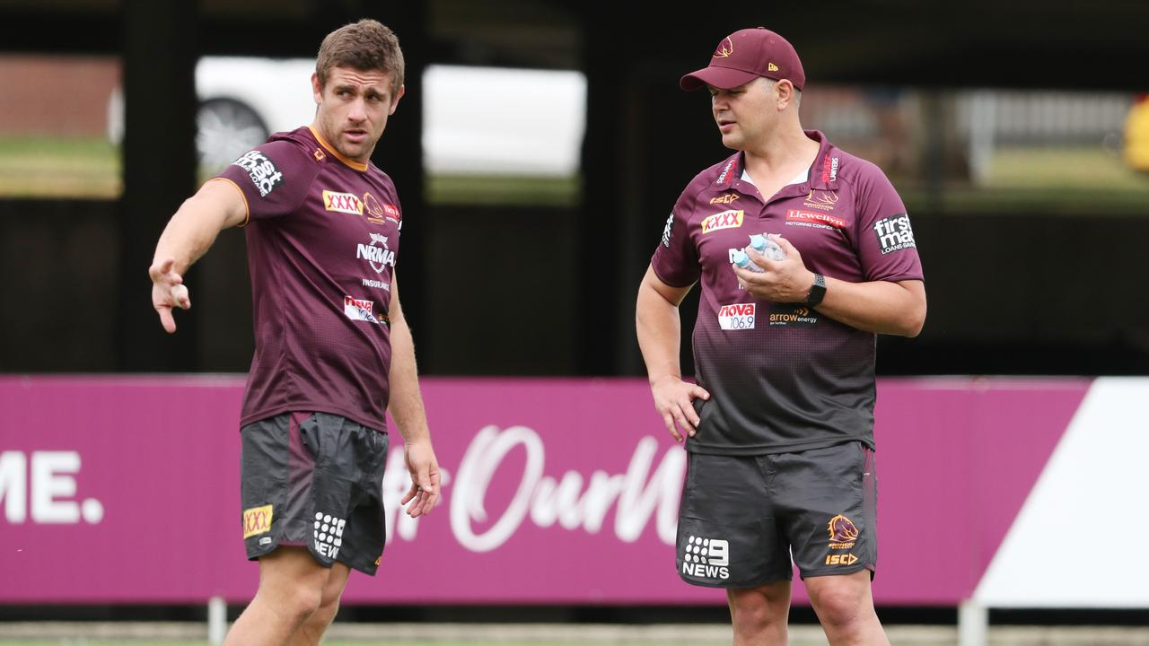 Seibold denies he ever planned to end McCullough's time at Red Hill. Image: Peter Wallis