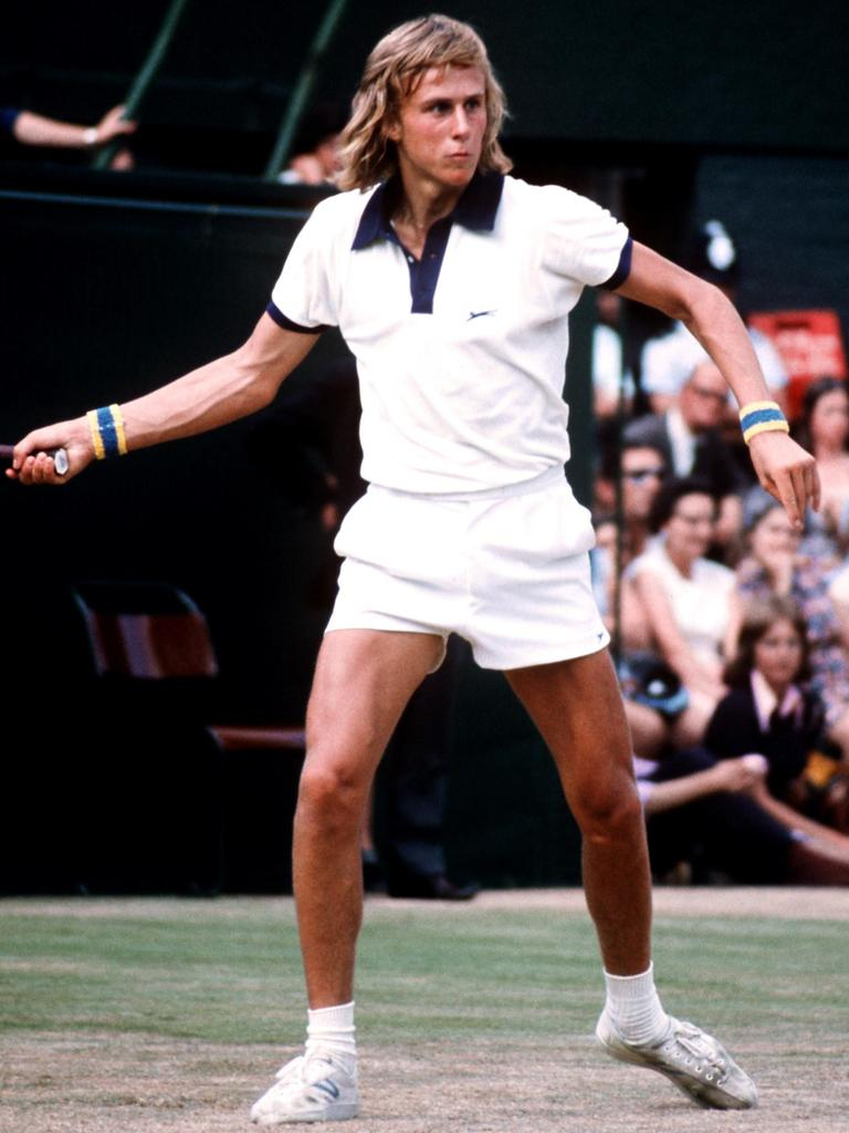 Bjorn Borg in action (Photo by S & G/PA Images via Getty Images)