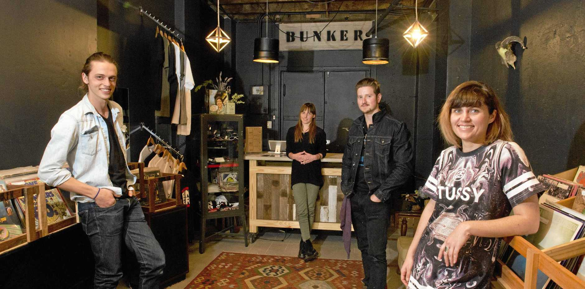 FOND FAREWELL: Head to Bar Wunder today to raise a glass in farewell to beloved vinyl store, Bunker Records.