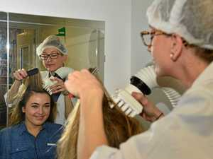 BYE BYE NITS: New weapon to take out ugly 'super lice'