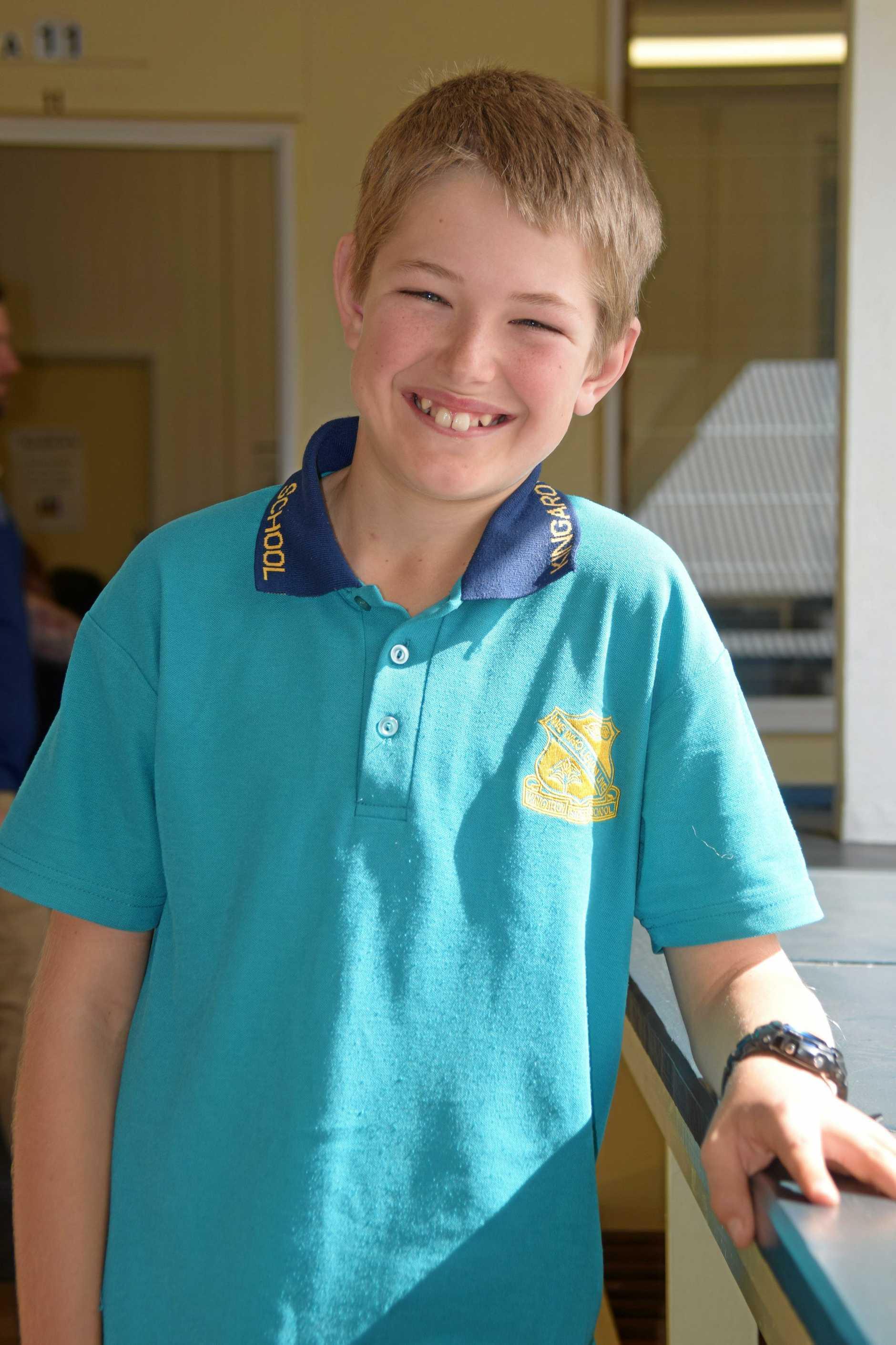 Liam Cullen is heading to his grandma's farm in Dalby.