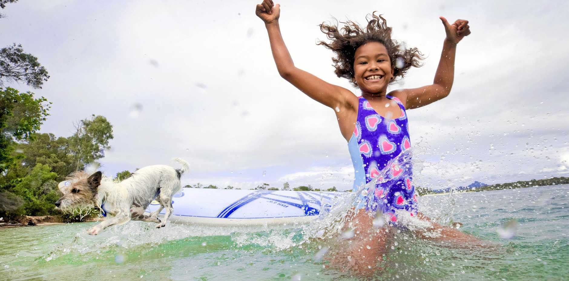 WELL-DESERVED BREAK: School holidays can be a time of mixed emotions for families with school-aged children.