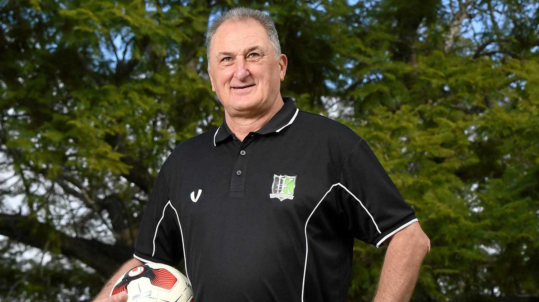 New Ipswich Knights technical director Joe Fenech.