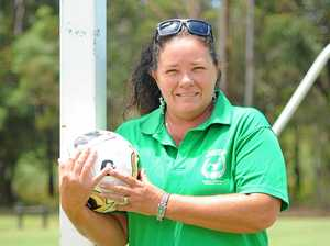 Local coach honoured for female football week