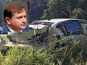 Wide Bay MP Llew O'Brien walks away from serious crash