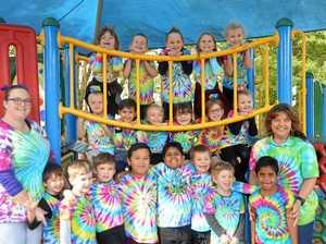 PHOTOS: Rainbow shirts inspire positive behaviour