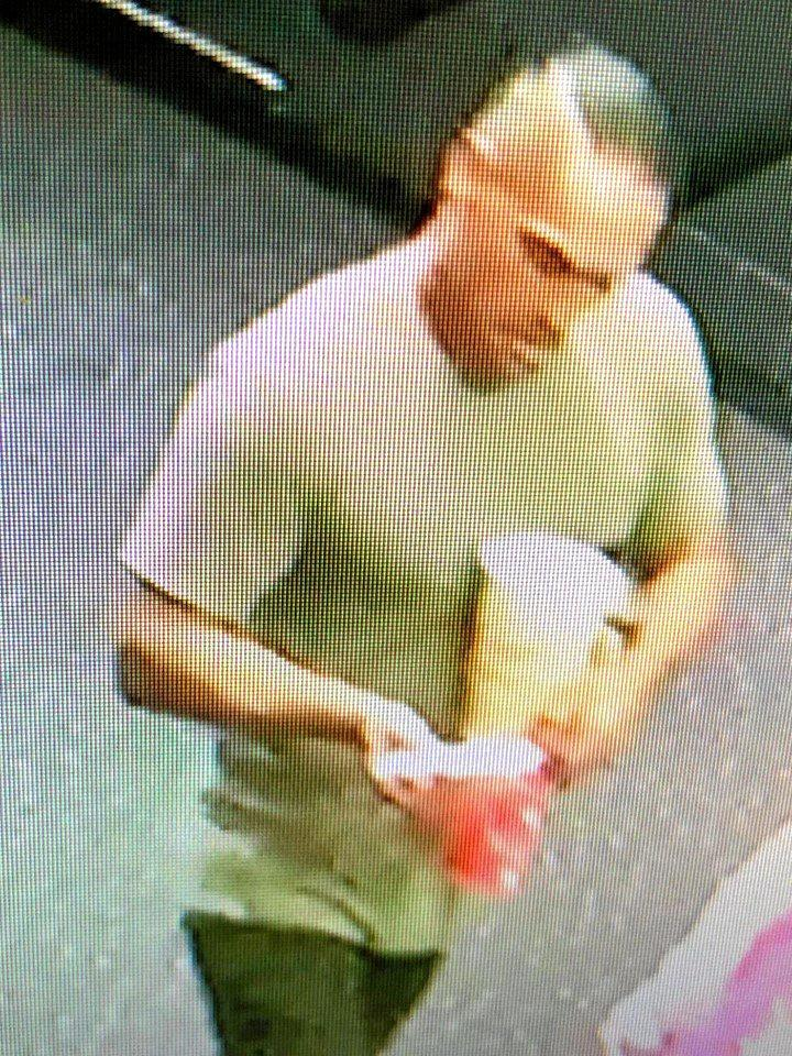 Tweed police would like to speak with this man over a stolen scanning device from Hoyts Cinemas.