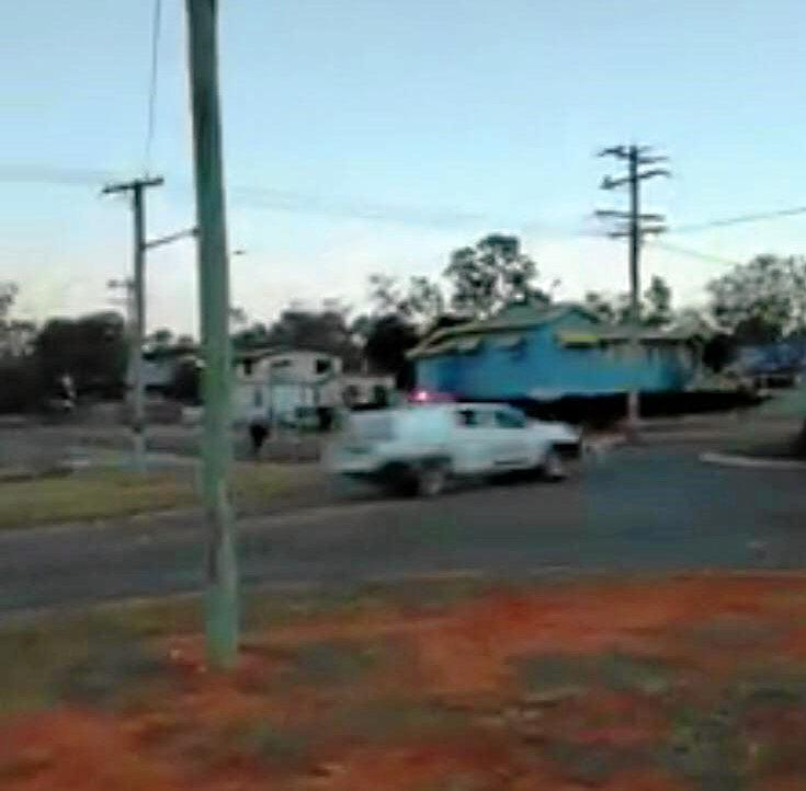 Alleged stolen car at the end if its journey in Woorabinda