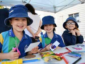 GALLERY: Emu Park school kids celebrate being under eight!