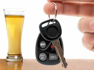 Driver four times legal limit hits two cars in bottle shop