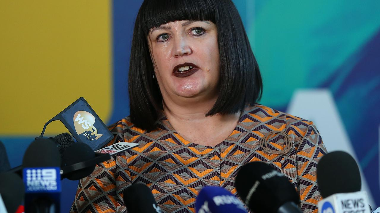 Rugby Australia CEO Raelene Castle had previously spoken to Folau about his social media use. Picture: Getty