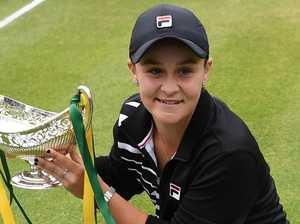Barty's 'nasty' Wimbledon surprise