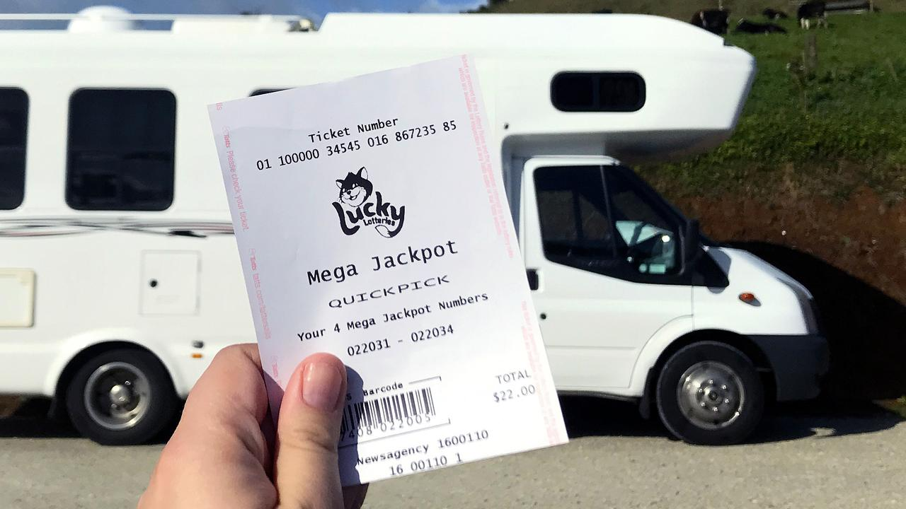 A lucky Redlands man plans to travel around Australia in a campervan following a lottery win.
