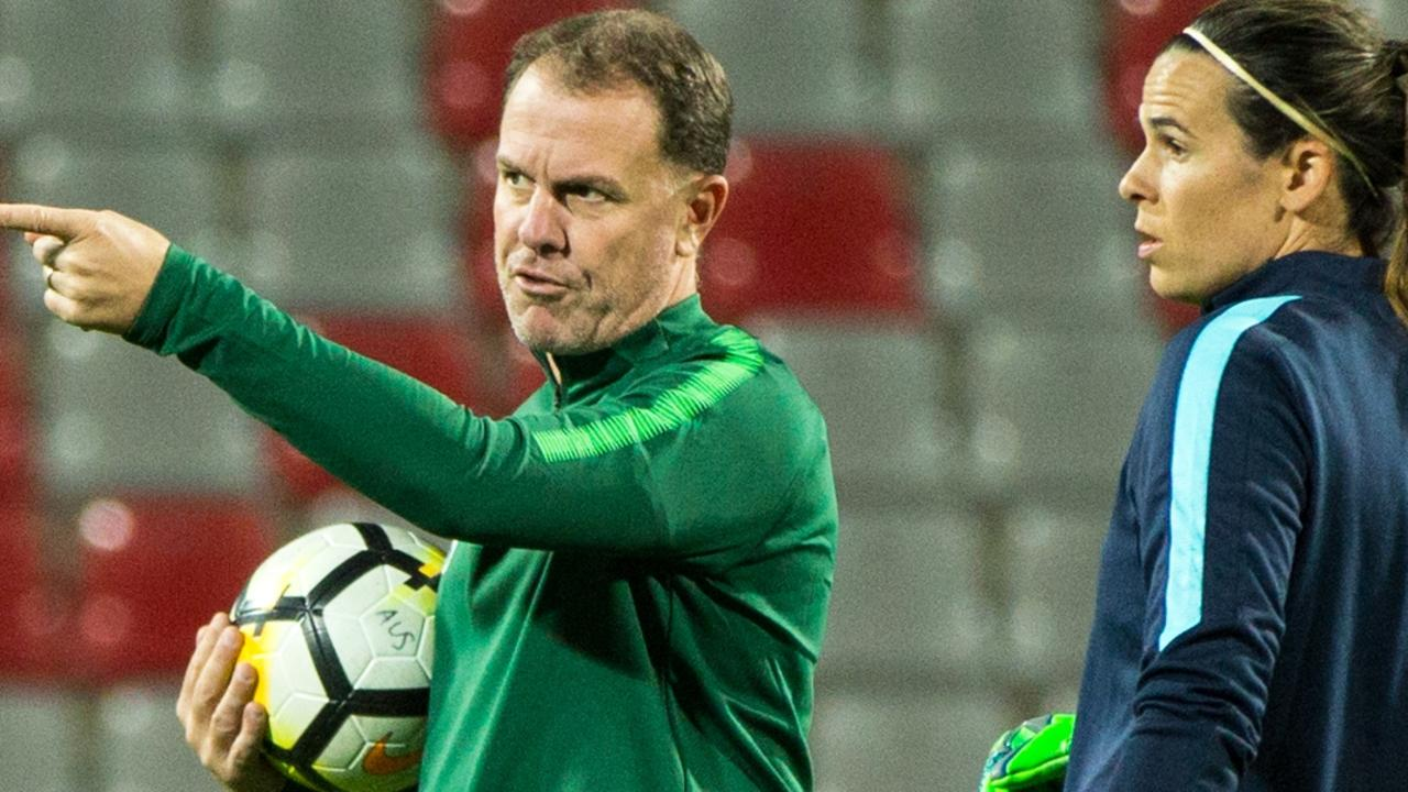 Alen Stajcic was sacked as Matildas coach in January. Picture: Val Migliaccio