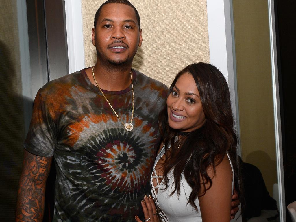 Carmelo and La La are back together.