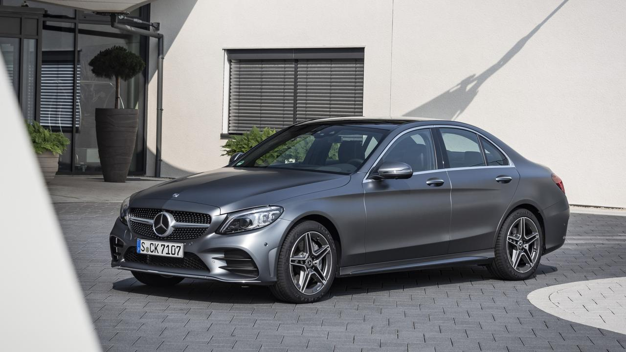 Mercedes-Benz builds its right-hand drive C-Class in South Africa.