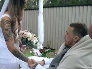 Dad dies one day after emotional wedding