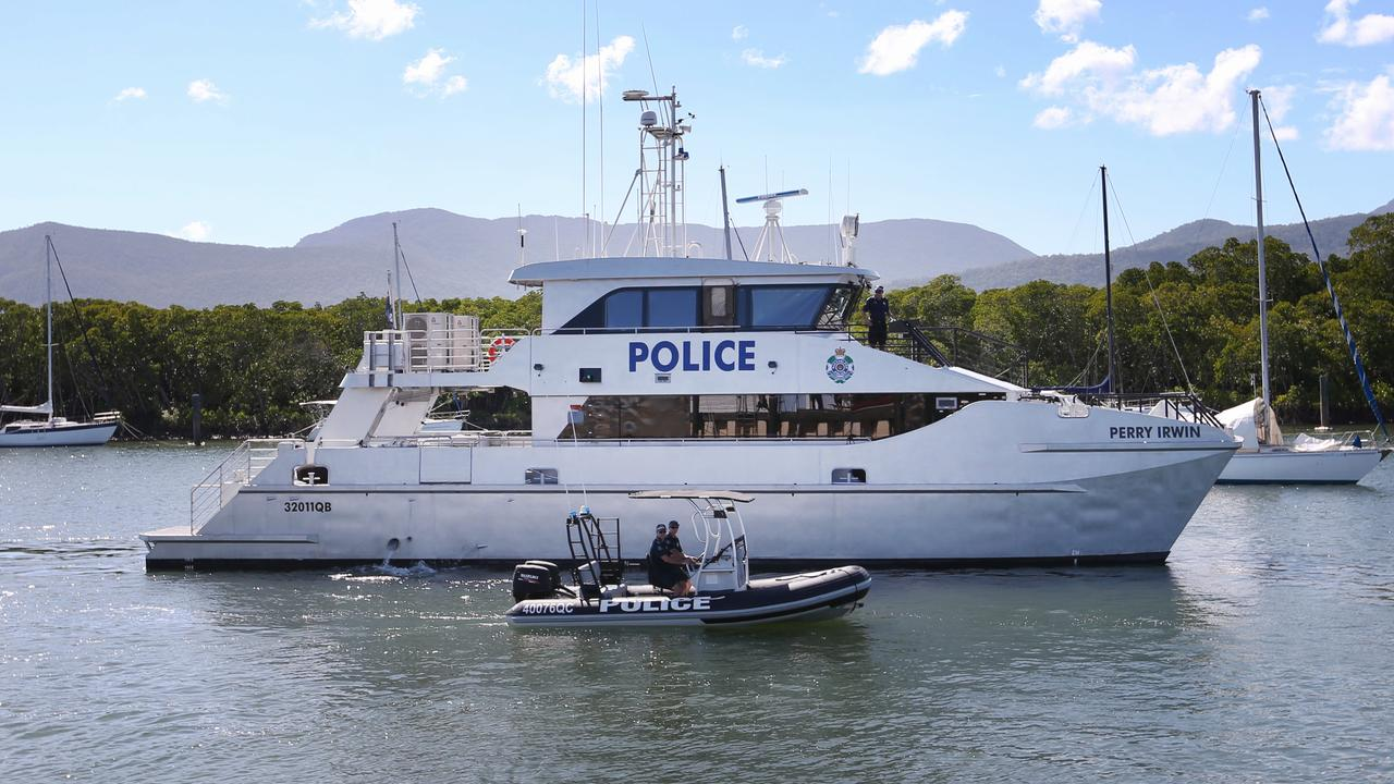 Cairns Water Police have been involved in the search for a missing fisherman. Picture: Brendan Radke.