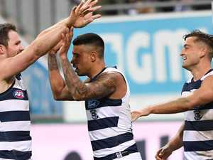 Blasted: 'moronic, anal' umpiring in Cats' win over Crows
