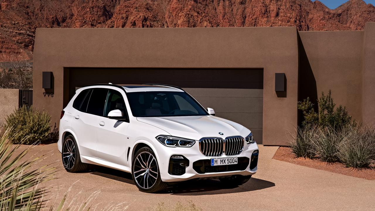 A lot of luxury SUVs, including the BMW X5, are built in the USA.