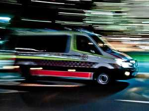 One hospitalised after two vehicle crash