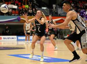 Silver Ferns beaten in netball's battle of the sexes