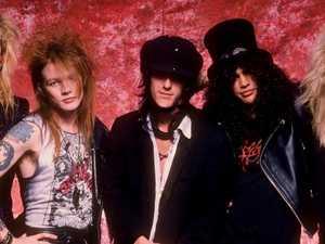 Guns N' Roses star 'stabs himself'